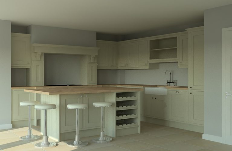 CAD design for Kitchen in Linslade