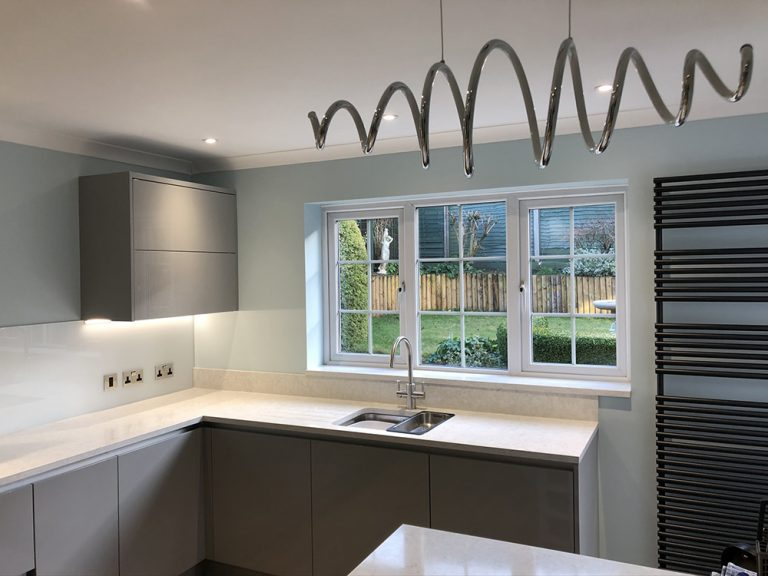 Kitchen installation in Woburn Sands